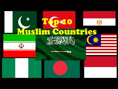 top 10 muslim countries