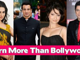 Top earning tv stars