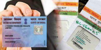 Link Aadhaar and PAN to bank