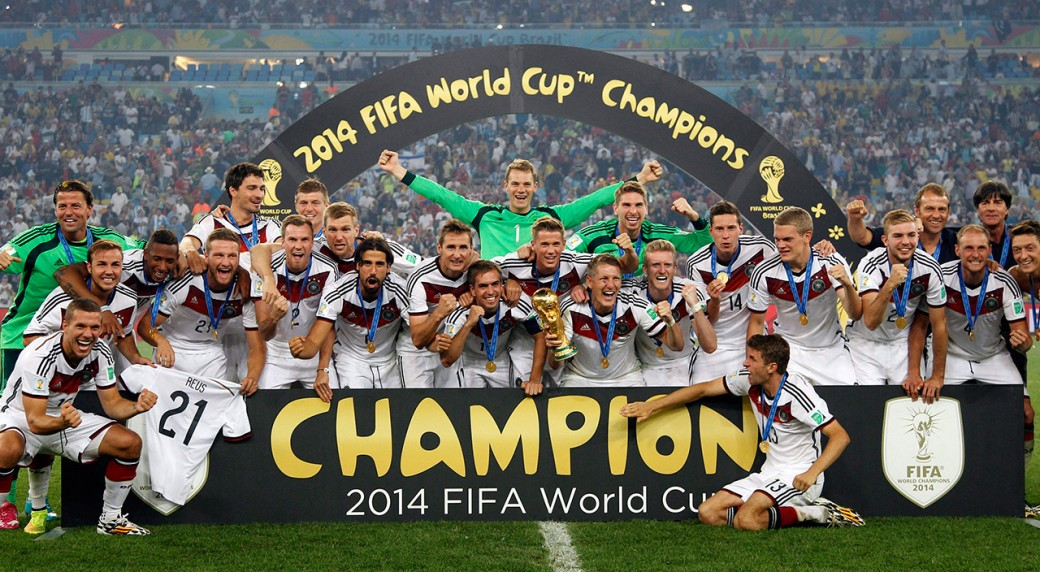 Germany 2014 FIFA Football World Cup Winner