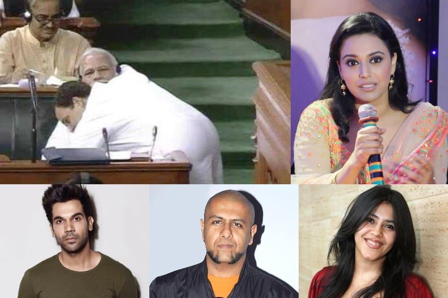 Rahul-gandhi-hugs-Modi-Bollywood-min