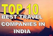 Top 10 best travel booking companies in India 2018