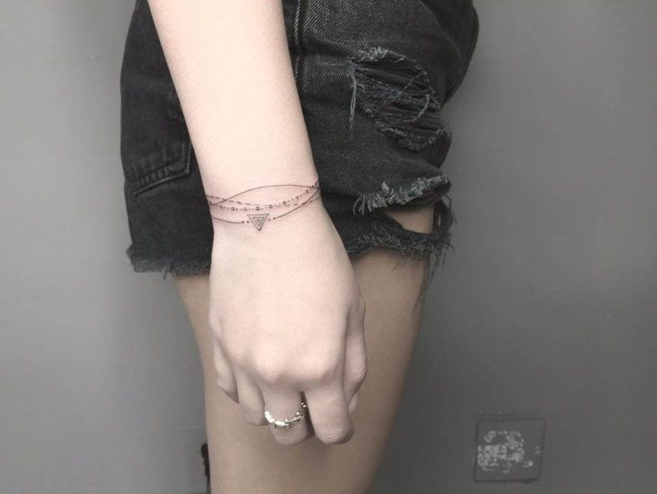 Wristlet or Anklet Tattoo