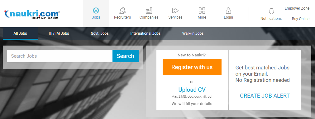 10 Best Job Search Websites in India - Talepost Latest News