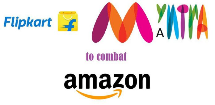 Flipkart-Myntra-Amazon