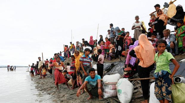 Rohingya issue image