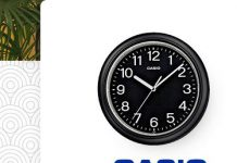 Casio wall clock