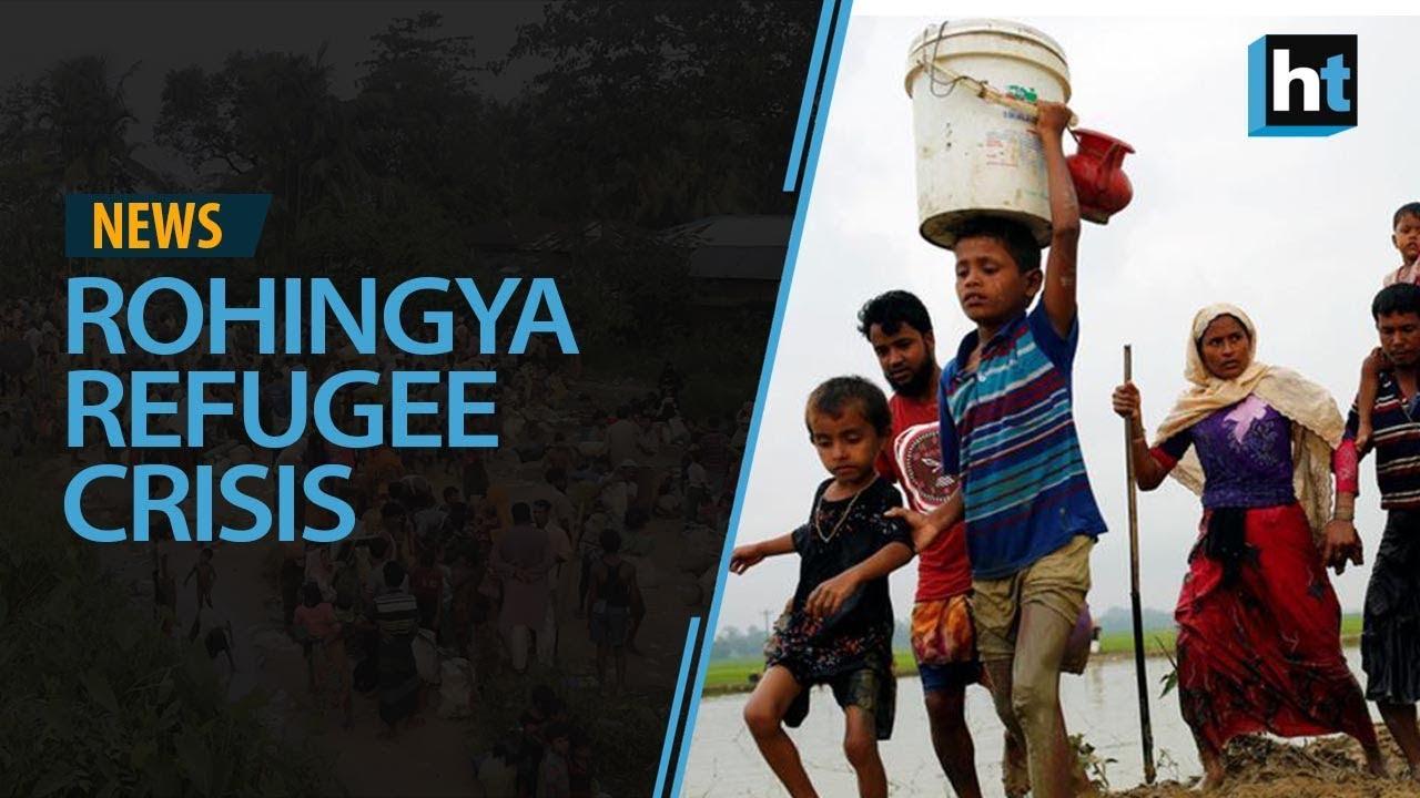 rohingya refugee crisis image