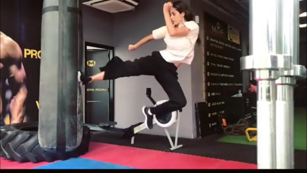 Disha Patani Martial Arts