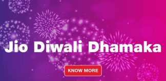 Jio Diwali Offers