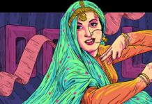 Madhubala Doodle