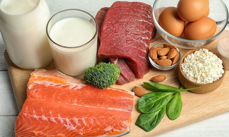 Protein-rich food
